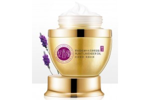 Укрепляющий крем для лица с эфирным маслом лаванды. 50гр.