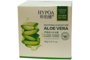 """""""HYPOA"""" Увлажняющий и смягчающий крем-гель для лица с вытяжкой из алоэ-вера.  80гр."""