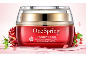 One spring Крем для лица от морщин с экстрактом красного граната, 50 г