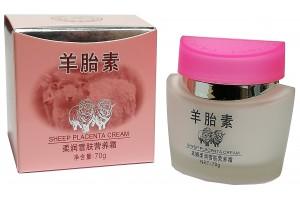 Caimei Крем для лица с овечьей плацентой. Питательный, увлажняющий.с отбеливающим эффектом, 70гр.