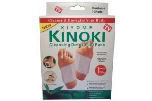 """Пластырь""""KINOKI"""" на стопу для выведения токсинов и шлаков, в коробке — 10 пластырей"""