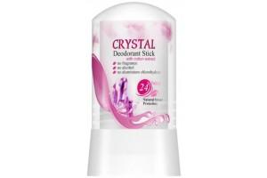 СЛ Минеральный дезодорант для тела с экстрактом хлопка ''Crystal Deodorant Stick''. 60гр.