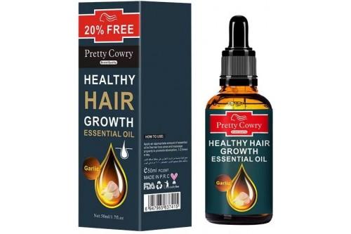 Эфирное масло для лечения волос и укрепления волосяной луковицы. Чеснок. 50мл.