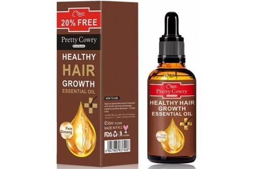 Эфирное масло для лечения волос и укрепления волосяной луковицы. Женьшень. 50мл.