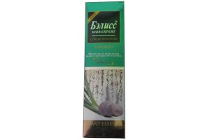 Шампунь Бэлисс против выпадения для склонных к жирности волос с экстрактом чеснока. 500мл.