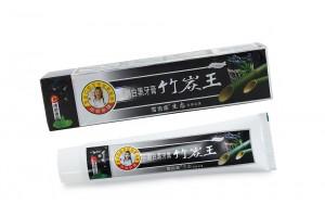 Зубная паста на основе бамбука и жидкого турмалина отбеливающая, 160 гр.