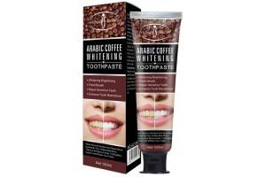 Aichun Beauty Отбеливающая зубная паста с кофе арабика. 100мл.